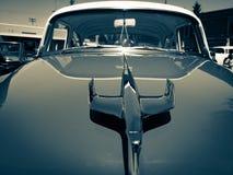 Voler avec des voitures d'Eagles et de vintage Images libres de droits
