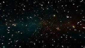 Voler par l'étoile rendu 3d illustration libre de droits