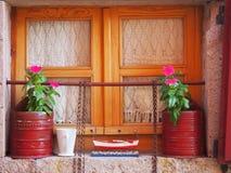 Volet de fenêtre Image libre de droits