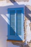 Volet espagnol de fenêtre Images stock