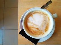 Volete una tazza di caffè? Immagini Stock Libere da Diritti