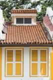 Volets de petite maison Photos libres de droits