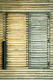 Volets en bois photos libres de droits