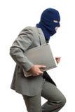 voleur d'ordinateur Images stock
