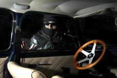 Voleur de voiture Photo libre de droits