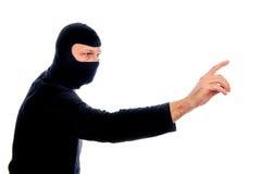 Voleur en ligne photo libre de droits