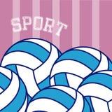 Voleyball balls sport Stock Photos