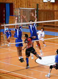 Voleyball match Royalty Free Stock Photos