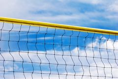 Voleyball net Stock Photo