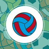 Voleyball Sport Ball Stock Image