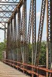 Volez le pont en bois photo stock