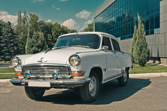 Volga. Retro auto volga period of USSR 1959 stock photos