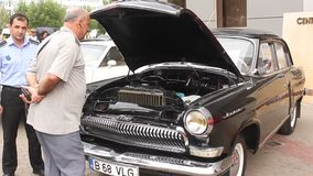 Volga car Stock Photo