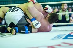 Volga Federal District Championship in mixed martial arts Stock Photography