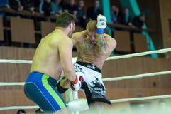 Volga Federal District Championship in mixed martial arts Stock Photo