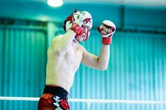 Volga Federal District Championship in mixed martial arts. Stock Image