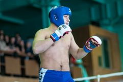 Volga Federal District Championship in mixed martial arts. Royalty Free Stock Images