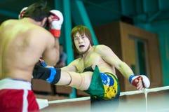 Volga Federal District Championship in mixed martial arts... Royalty Free Stock Photos