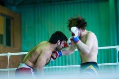 Volga Federal District Championship in mixed martial arts... Stock Photos