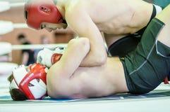 Volga Federal District Championship in mixed martial arts... ... Royalty Free Stock Photo