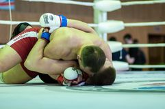 Volga Federal District Championship in mixed martial arts... ... Stock Photo