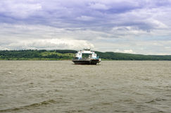 Volga Ferry Royalty Free Stock Image