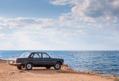 Volga GAZ-24 imagenes de archivo