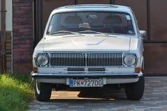 Volga GAZ-24. The Volga GAZ-24 is a car manufactured by the Gorkovsky Avtomobilny Zavod GAZ, Gorky Automobile Plant from 1970 to 1985 as a generation of its stock photos