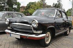 Volga, GAZ-21 il fanone immagine stock