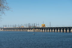 Volga Hydroelectric Station Stock Photos