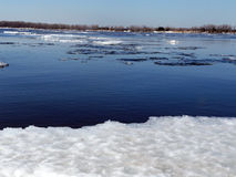 Volga i mars Arkivfoton