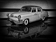 Volga M21 Taxi Royalty Free Stock Photography