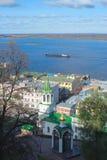 Volga Nizhny Novgorod Royalty Free Stock Image