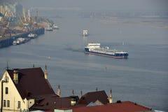 Volga and Oka rivers Stock Photography