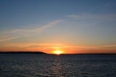Volga River Arkivbild