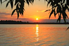 Volga River Royalty Free Stock Photo