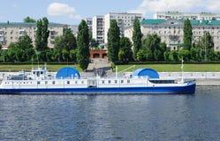 Volga river embankment in Saratov Royalty Free Stock Photography