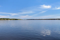 Volga river in Kineshma, Russia Royalty Free Stock Photography
