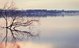 Volga river Royalty Free Stock Image