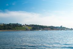 Volga river Royalty Free Stock Photography