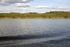 The Volga river panorama. Stock Photo