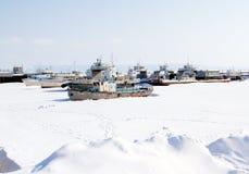 Volga River, Russia Stock Photo