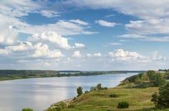 Volga river, Russia Royalty Free Stock Photos