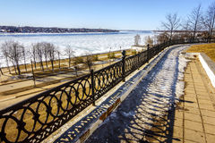 The Volga River Royalty Free Stock Images