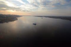 Volga rivers Royalty Free Stock Photo