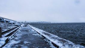 Volga Rivier Stock Afbeelding