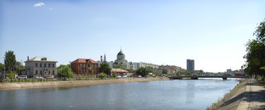 Volga rzeka Zdjęcie Royalty Free