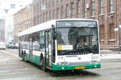 Volgabus CityRhythm royalty-vrije stock foto's