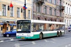 Volgabus CityRhythm Royalty-vrije Stock Afbeeldingen