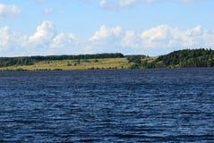 Volgaet River royaltyfria bilder